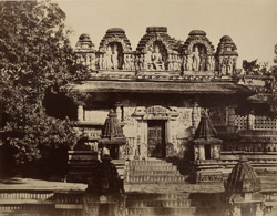 Temple at Belloor. [Chennakeshava Temple, Belur.]
